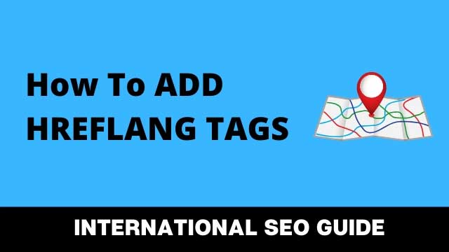 how to add hreflang tags